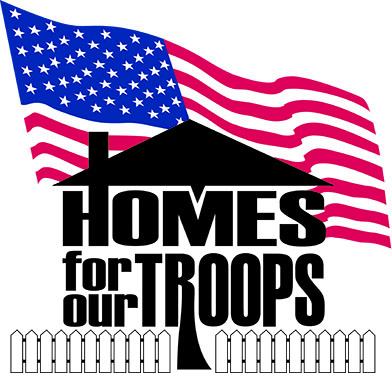 Image result for homes for our troops