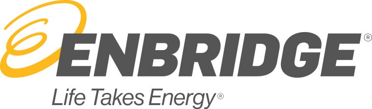 Enbridge Color Logo with Tagline