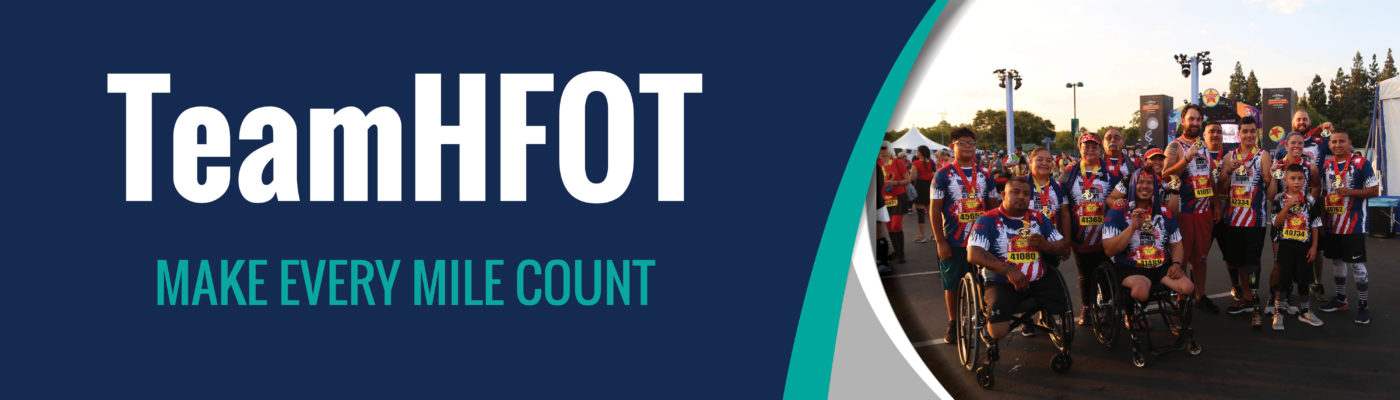 Support Our Veterans - Run for Team HFOT
