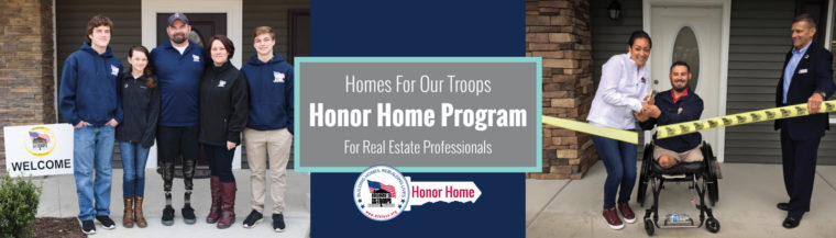 Homes For Our Troops - Honor Home Program for Realtors