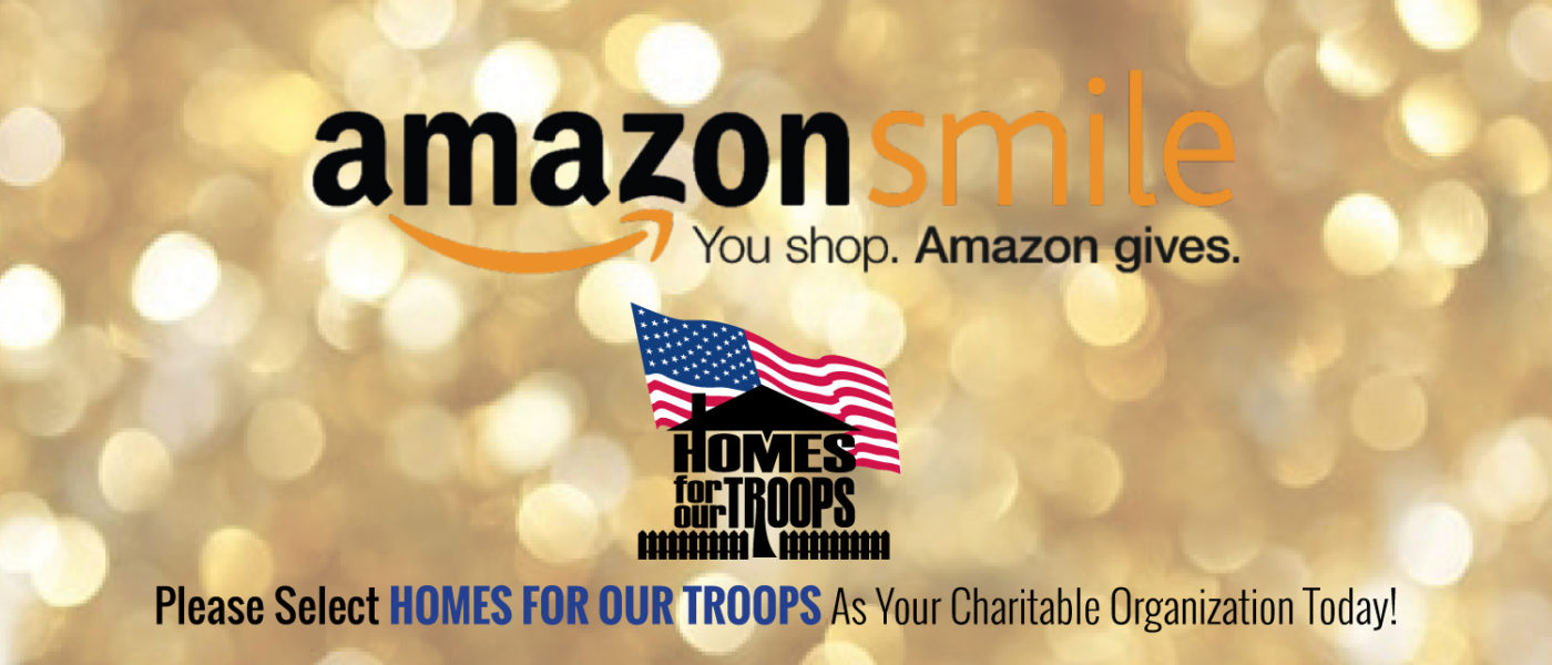 Support Hones For Our Troops on Amazon Smile