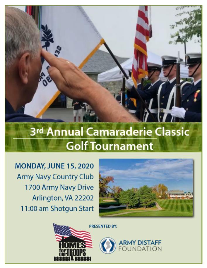 3rd Annual Camaraderie Classic Golf Tournament @ Army Navy Country Club | Arlington | Virginia | United States