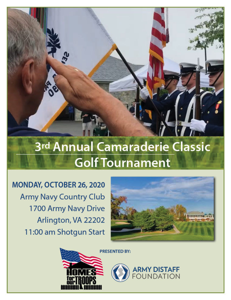 3rd Annual Camaraderie Classic Golf Tournament @ Army Navy Country Club | Arlington | Virginia | United States
