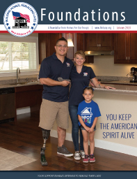 Homes For Our Troops - January 2018 Foundations