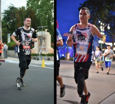 injured veteran running in 5k