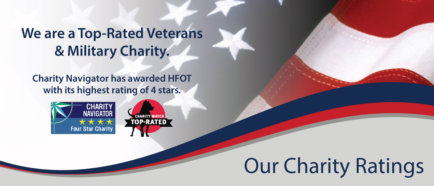 Homes For Our Troops is a Top Rated Charity