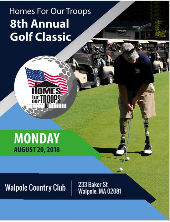8th Annual HFOT Golf Classic @ Walpole Country Club