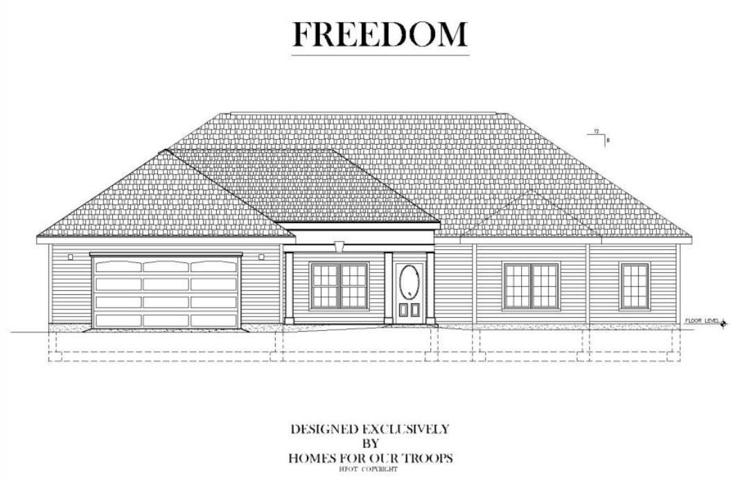 Home For Our Troops - Freedom accessible home floor plan