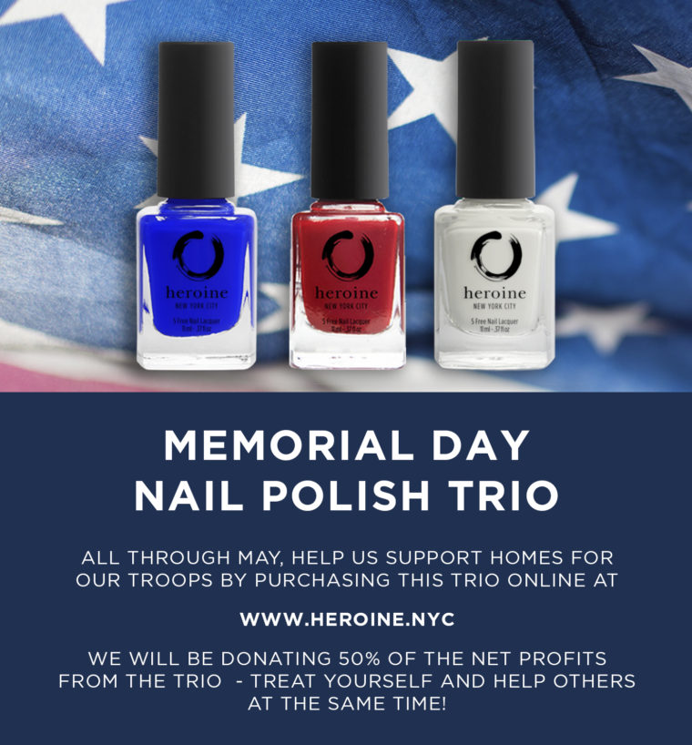 Memorial Day Nail Polish Trio Sale @ Online for the month of May