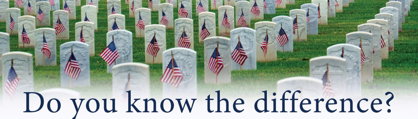 9e500986a9 The difference between Memorial Day and Veterans Day – Homes For Our Troops