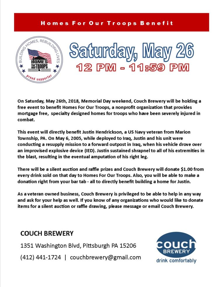 Couch Brewery----Building A Home For Justin @ Couch Brewery | Stamford | Connecticut | United States