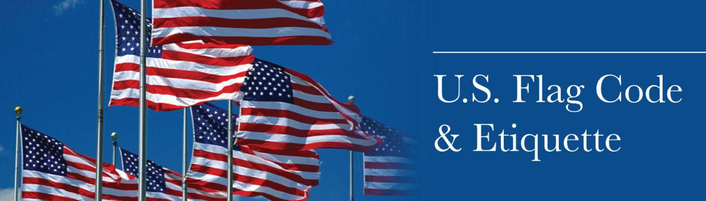 3429d4de90e7 Basic guidelines for U.S. Flag Etiquette – Homes For Our Troops