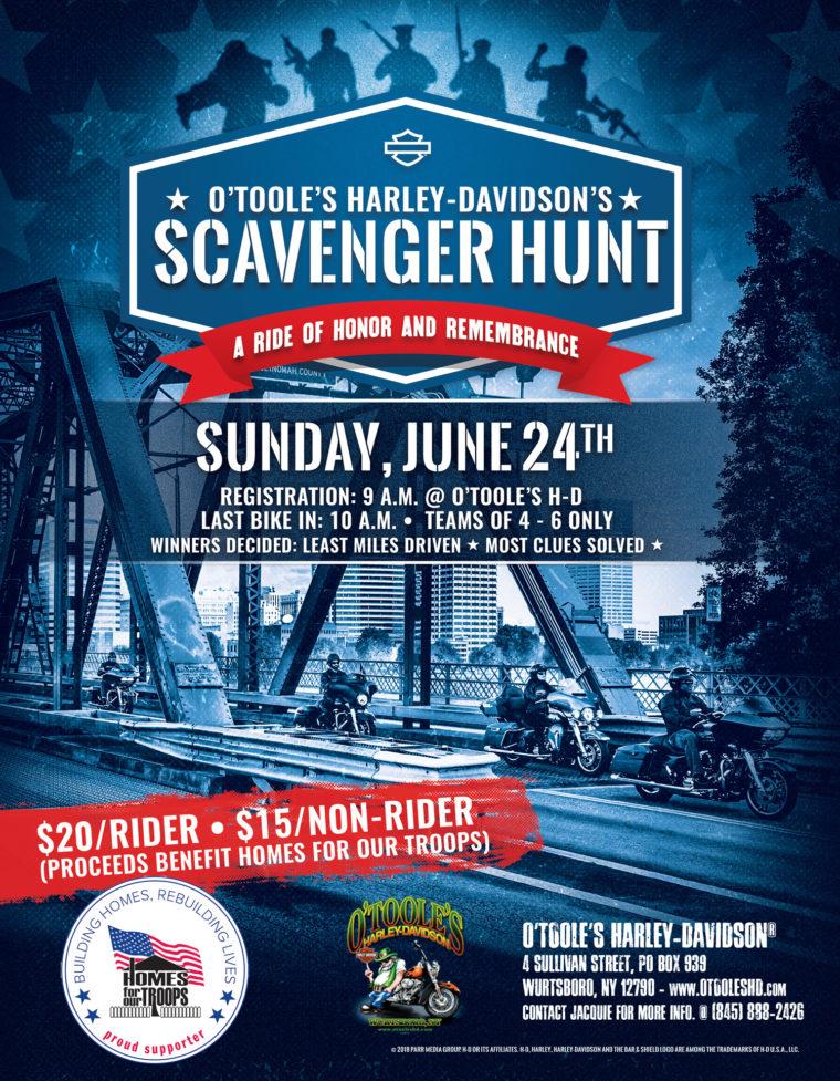 O'Toole's Harley-Davidson's Scavenger Hunt @ O'Toole's Harley-Davidson  | Wurtsboro | New York | United States