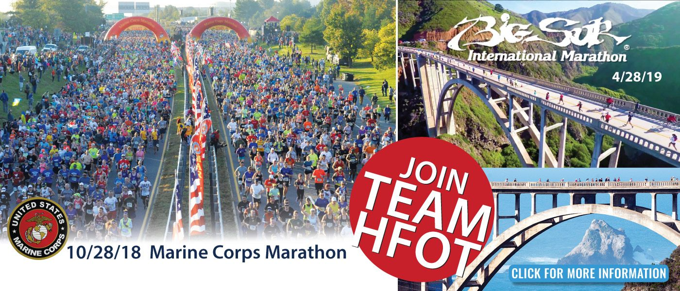 Join TeamHFOT and run for a cause