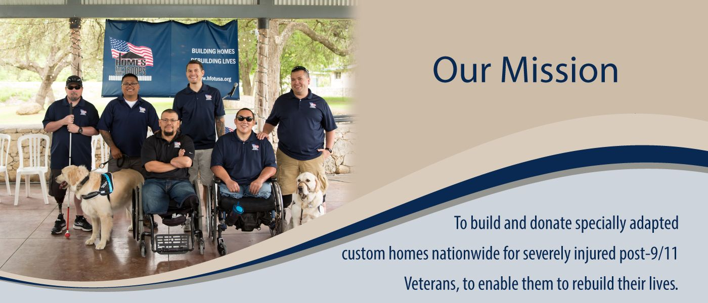 Homes For Our Troops Mission