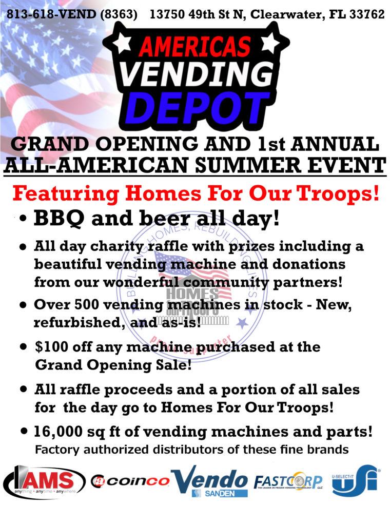 Americas Vending Depot @ Americas Vending Depot | Clearwater | Florida | United States