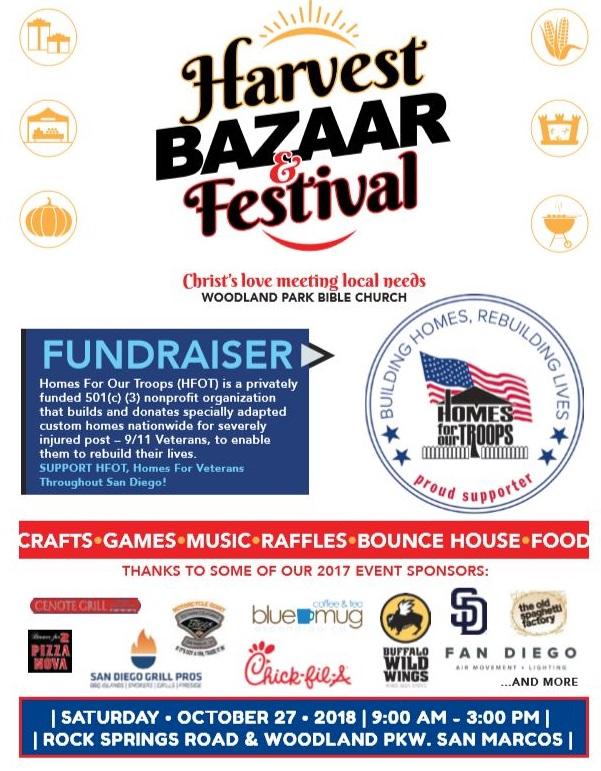 Harvest Bazaar & Festival @ Woodland Park Bible Church | San Marcos | California | United States