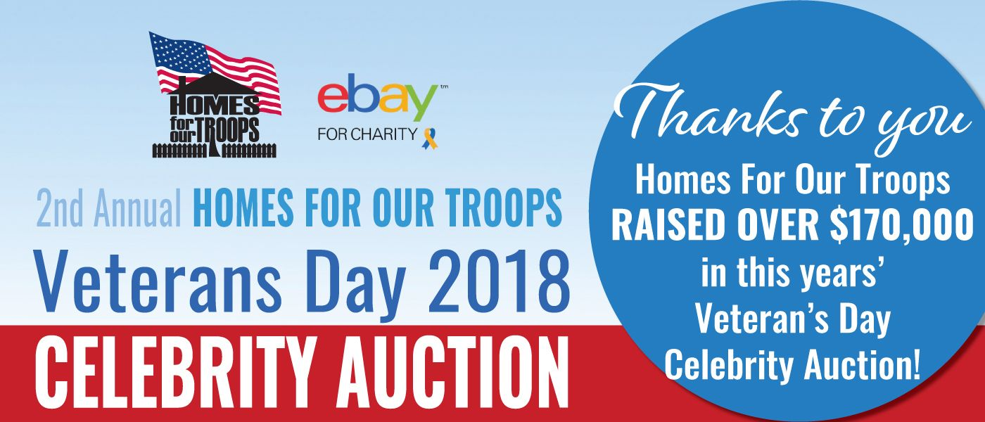 Veterans Day EBay Auction - Thank You