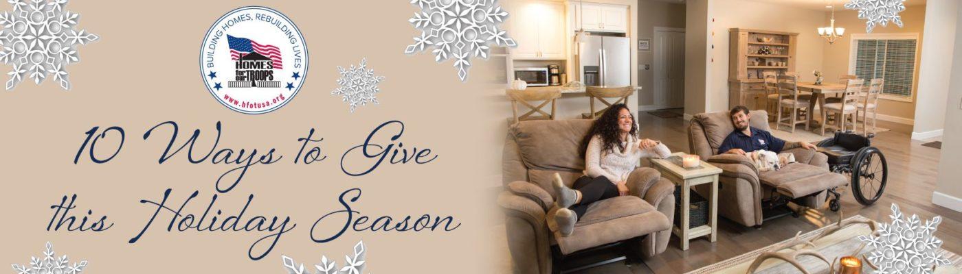 10 Ways To Give this Holiday Season