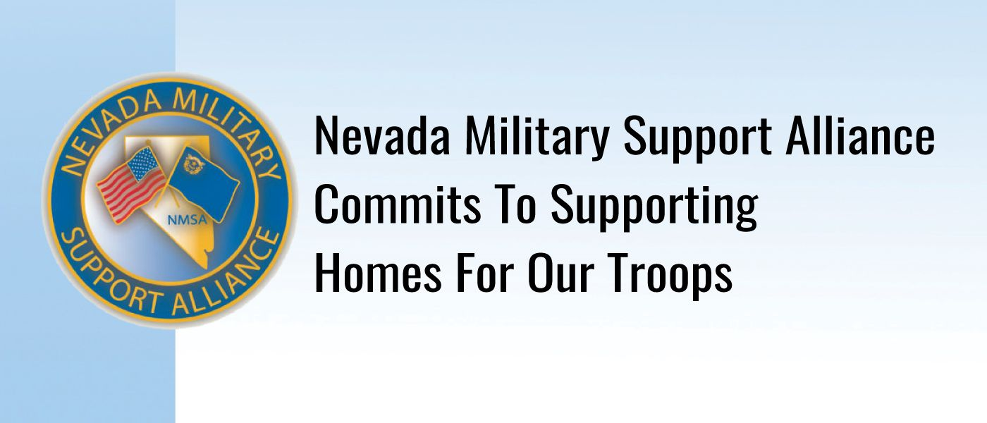 Nevada Military Support Alliance commits $250,000 to Homes For Our Troops