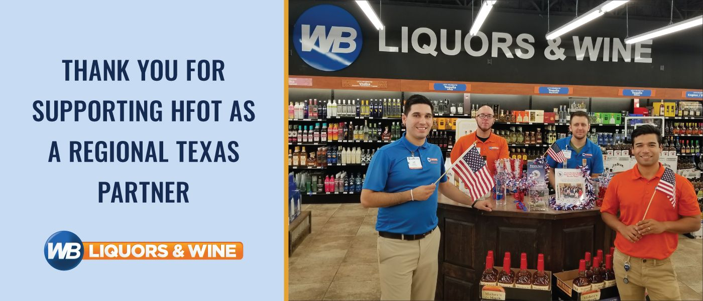 HFOT Corporate Partner - WB Liquors and Wine