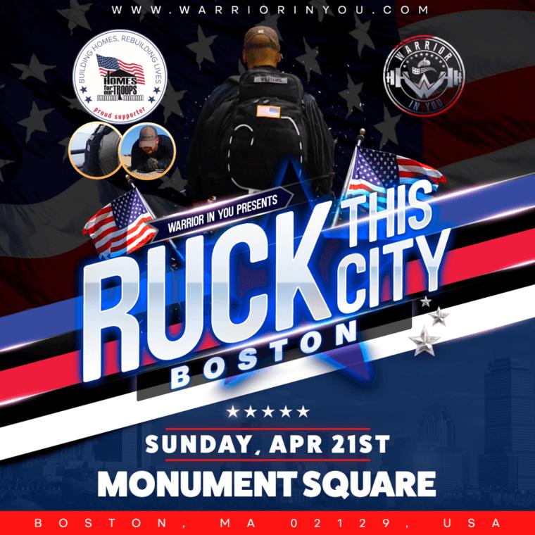 Ruck This City-Boston @ Monument Square  | Boston | Massachusetts | United States