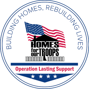Home For Our Troops - Operation Lasting Support