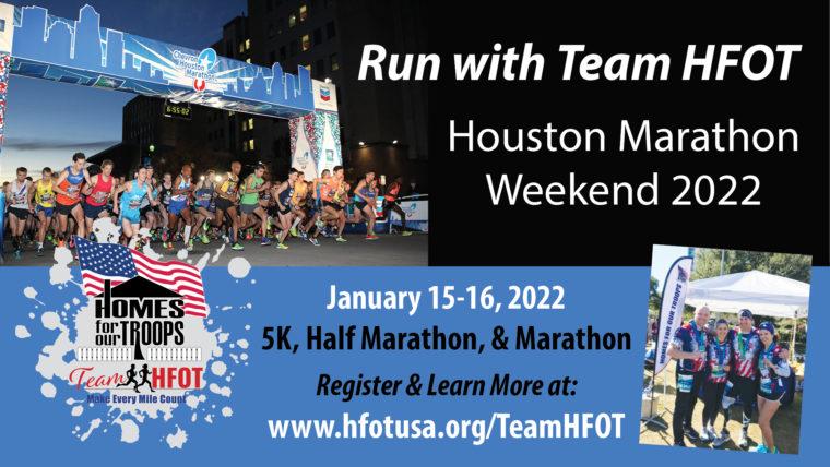 Houston Marathon Weekend - Team HFOT @ Houston | Texas | United States