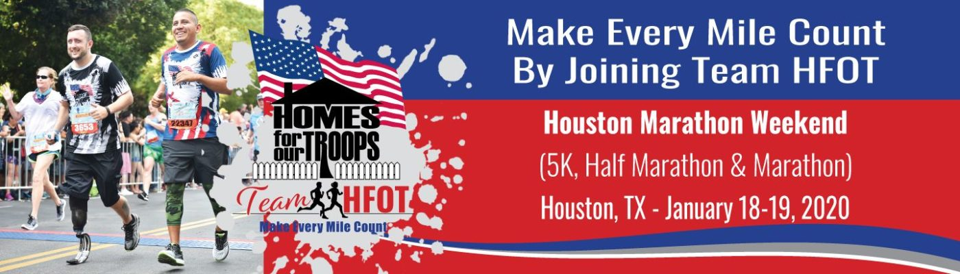 Join Team HFOT in the Houston Marathon Race Weekend