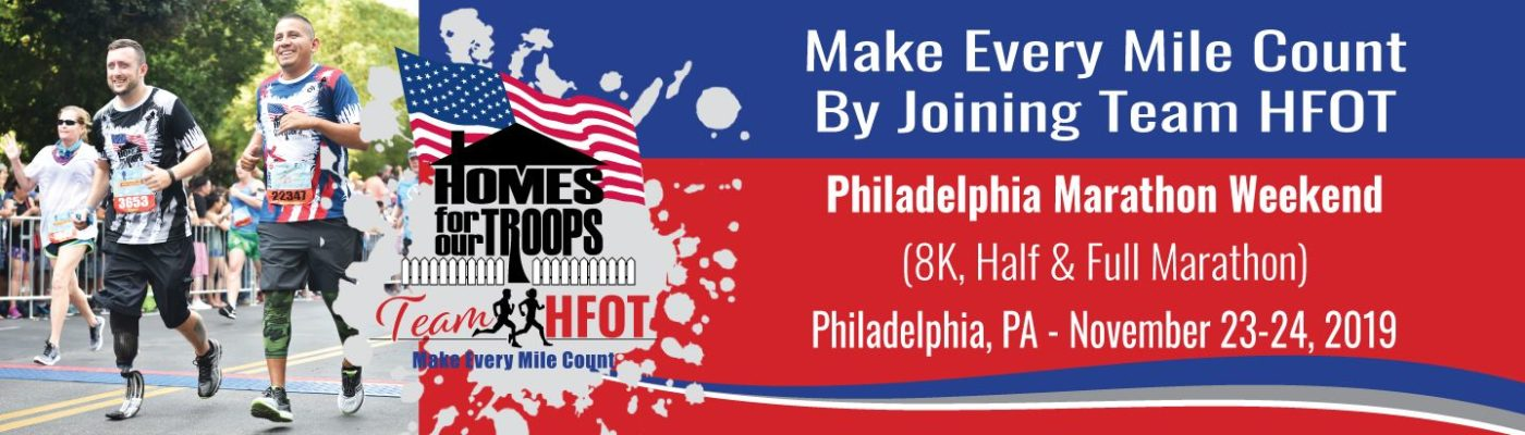 Join Team HFOT in the Philadelphia Marathon Race Weekend