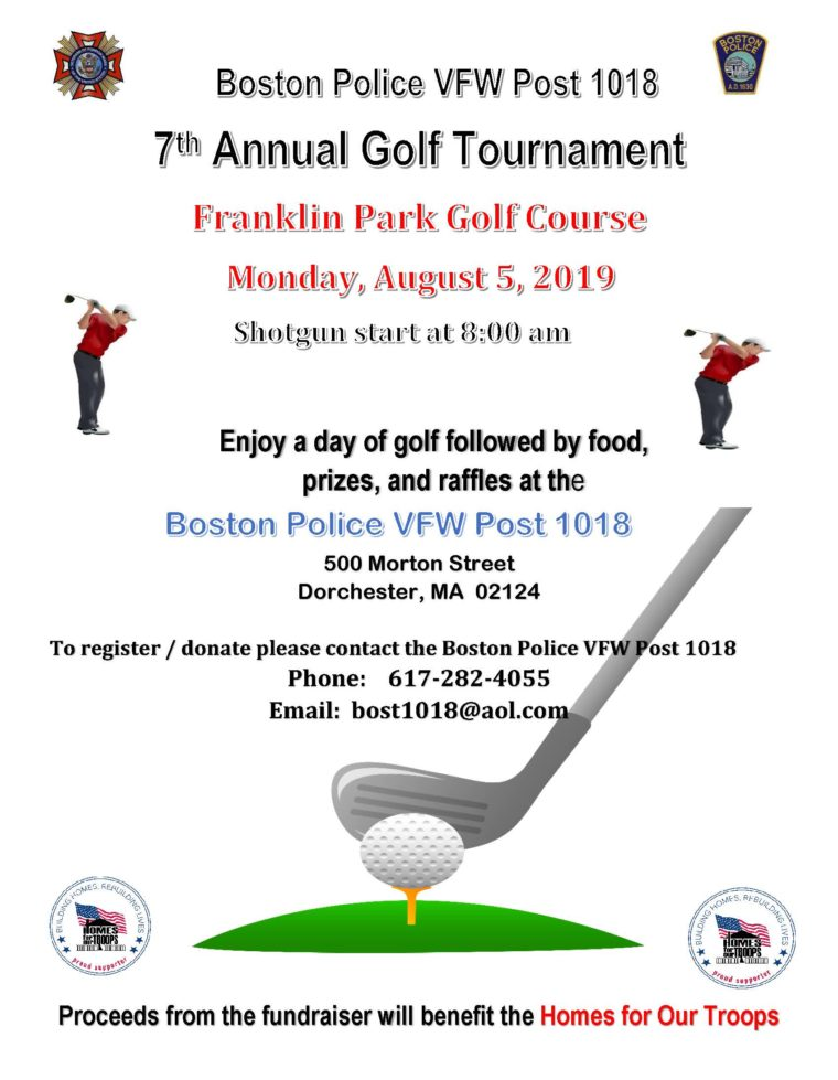 Boston Police VFW Post 1018 7th Annual Golf Tournament @ Franklin Park Golf Course | Boston | Massachusetts | United States