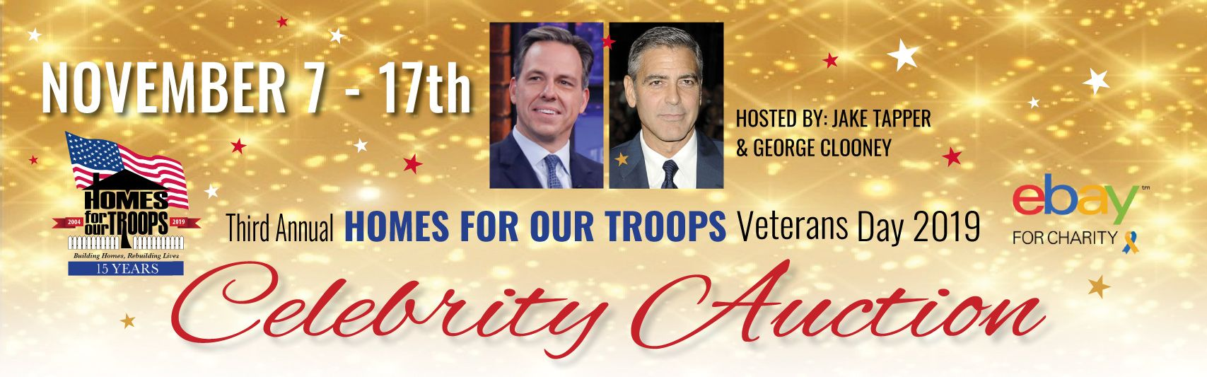 HFOT 3rd Annual Veterans Day Celebrity Auction