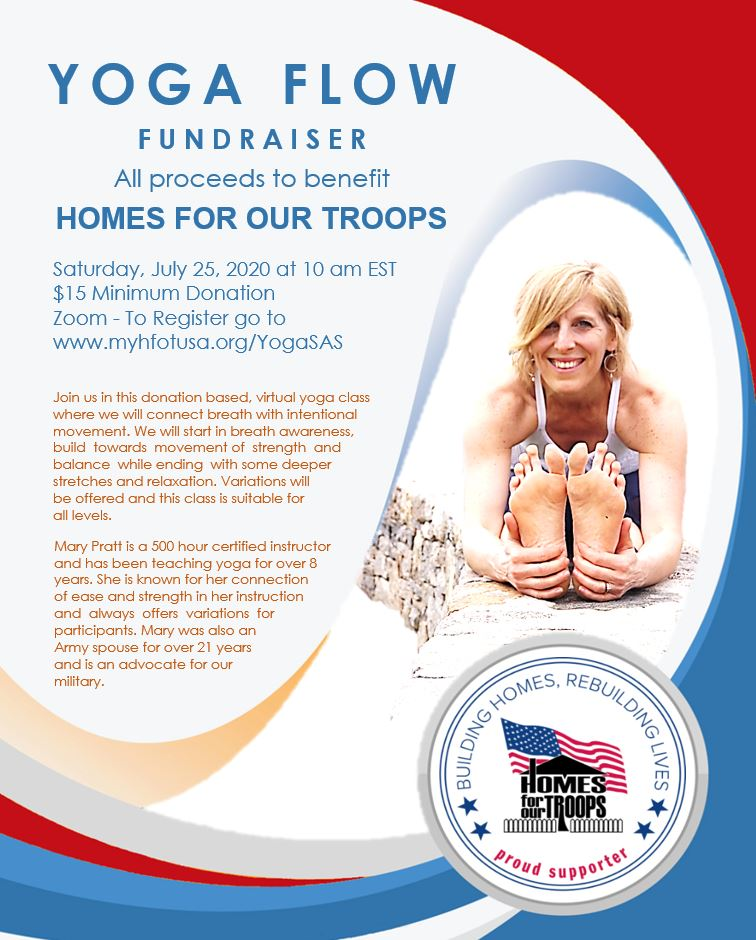 Virtual Yoga Flow Class