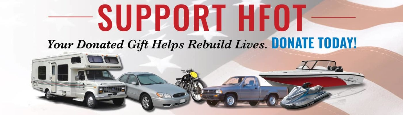Donate You Car to Support Injured Veterans