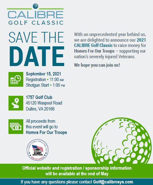 CALIBRE Golf Classic @ Dulles | Virginia | United States