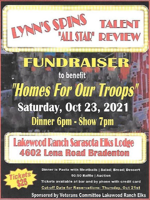 "Bradenton, FL -- Lynn's Spins ""All Star"" Talent Review @ Lakewood Ranch Sarasota Elks Lodge | Bradenton | Florida | United States"